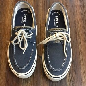 Sperry Top-sider Navy Blue boat shoes